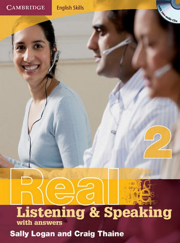 Cambridge English Skills: Real Listening & Speaking with answers 2 book + audio-cd