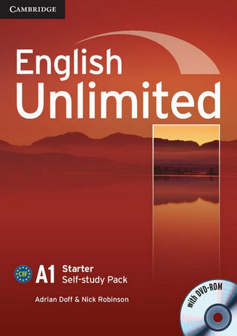 English Unlimited - Starter Self-study Pack (Workbook with DVD-ROM)