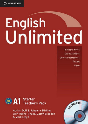 English Unlimited - Starter Teacher's Pack + DVD-ROM