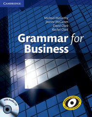 Grammar for Business book + audio-cd