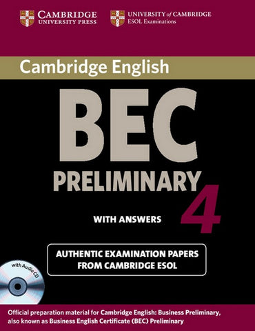Cambridge BEC 4 - Preliminary Self-study Pack student's book + answers + audio-cd