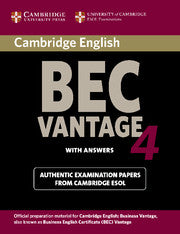 Cambridge BEC Vantage 4 Student's book + answers