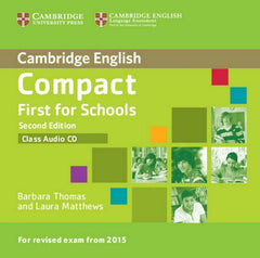 Compact First for Schools - second edition class audio-cd
