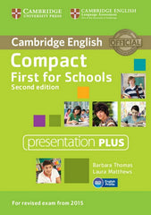 Compact First for Schools - second edition presentation plus dvd-rom