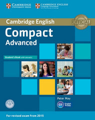 Cambridge English Compact - Advanced for Revised Exam from 2015 student's book with answers + cd-rom