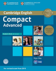 Cambridge English Compact - Advanced for Revised Exam from 2015 student's book+answers+cd-rom+audio-cd's