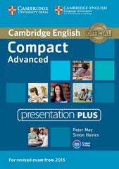 Cambridge English Compact - Advanced for Revised Exam from 2015 presentation plus dvd-rom