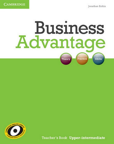Business Advantage - Upper-intermediate teacher's book