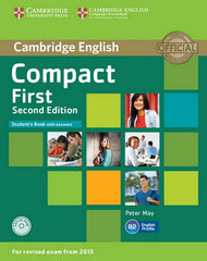 Compact First - second edition student's book with answers + cd-rom