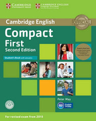 Compact First - second edition student's book+answers+cd-rom+class-cd