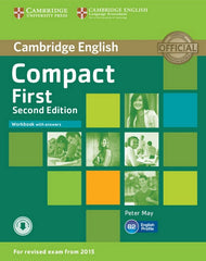 Compact First - second edition workbook + answers + downloadable audio