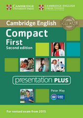 Compact First - second edition presentation plus dvd-rom