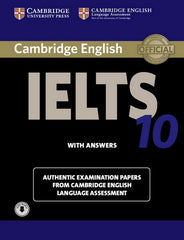 Cambridge English IELTS - Self-study Pack 10 student's book + answers + audio-file