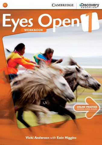 Eyes Open 1 workbook + online practice