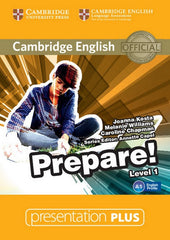 Cambridge English Prepare! 1 presentation plus dvd-rom