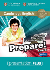 Cambridge English Prepare! 3 presentation plus dvd-rom
