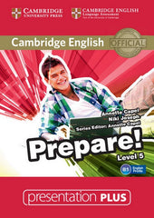 Cambridge English Prepare! 5 presentation plus dvd-rom