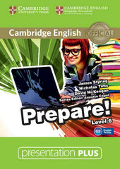 Cambridge English Prepare! 6 presentation plus dvd-rom