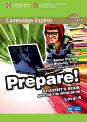 Cambridge English Prepare! 6 student's book + online workbook