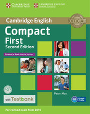 Compact First Student's book without answers + cd-rom