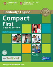 Compact First Student's book + Answers + Testbank