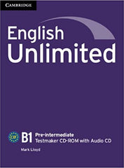 English Unlimited - Pre-intermediate Testmaker CD-ROM and Audio CD
