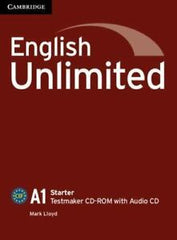 English Unlimited - Starter Testmaker CD-ROM and Audio CD