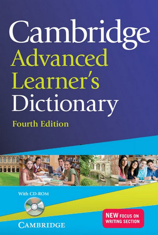 Cambridge Advanced Learner's Dictionary 4th edition book + cd-rom