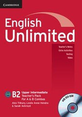 English Unlimited - Upper Intermediate A and B Teacher's Pack (Teacher's Book with DVD-ROM)
