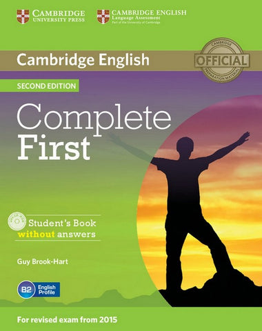 Complete First - second edition student's book without answers + cd-rom
