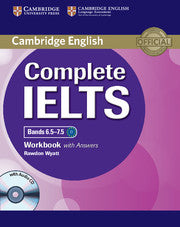 Complete IELTS Bands 6.5-7.5 Workbook with Answers with Audio-cd