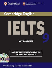 Cambridge English IELTS - Self-study Pack 9 student's book + answers + audio-cd's
