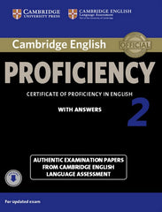 Cambridge English Proficiency 2 student's book + answers+audio-download