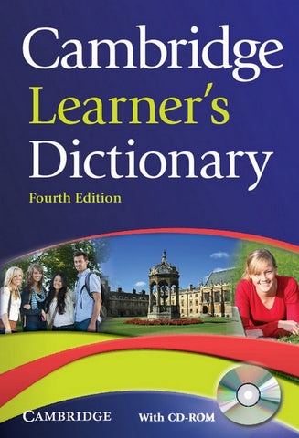 Cambridge Learner's Dictionary book + cd-rom for windows