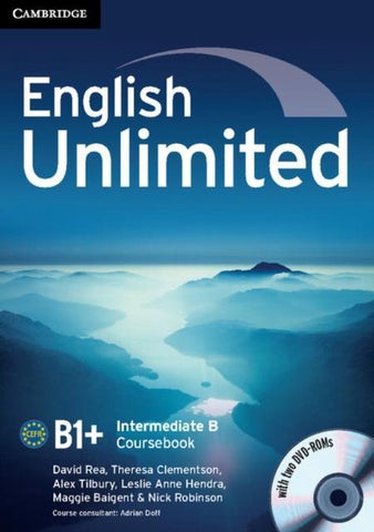 English Unlimited - Intermediate B Combo with DVD-ROMs (2)