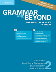 Grammar and Beyond 2 enhanced teacher's manual + cd-rom