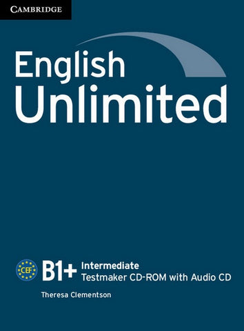 English Unlimited - Intermediate Testmaker CD-ROM and Audio CD