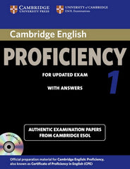 Cambridge English Proficiency for Updated Exam (Self-study pack) 1 student's book + answers + audio-cd's