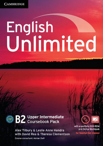 English Unlimited - Upper-intermediate Coursebook with e-Portfolio and Online Workbook Pack