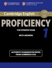 Cambridge English Proficiency for Updated Exam 1 student's book with answers