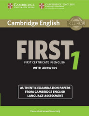Cambridge English First for Revised Exam from 2015 1 student's book with answers