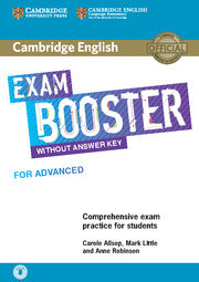 Cambridge English Exam Booster - Advanced Without Key + audio