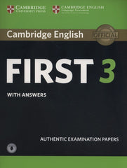 Cambridge English First 3 Student's book + anwers + audio download