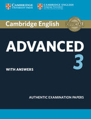 Cambridge English Advanced 3 Student's book + answers