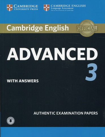 Cambridge English Advanced 3 Student's book + answers + audio