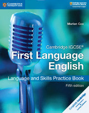 Cambridge IGCSE (R) First Language English Language and Skills Practice Book