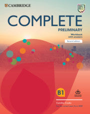 Complete Preliminary for Schools Revised Exam 2020 Workbook with Answers + Audio Download