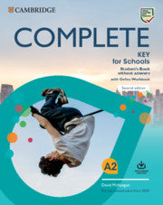 Complete Key for Schools Student's Book without Answers+Online Wb