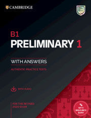 B1 Preliminary 1 for the Revised 2020 Exam Student'sbook + audio with resource bank