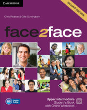 face2face Second edition - Upper-intermediate Student's Book + Online Workbook